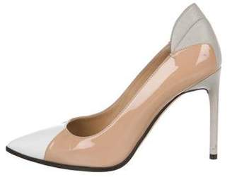 Reed Krakoff Two-Tone Patent Leather Pumps