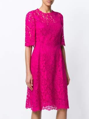 Dolce & Gabbana lace mini dress