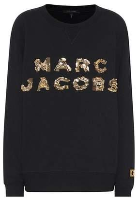 Marc Jacobs Beaded cotton sweatshirt