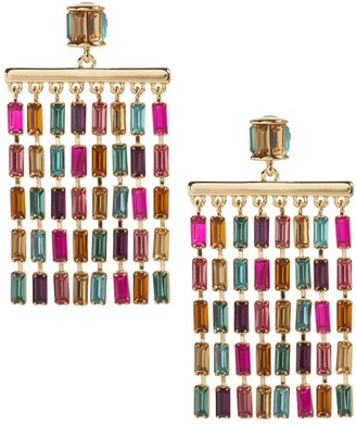 Banana Republic Baguette Chandelier Earrings