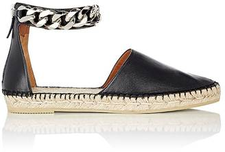 Givenchy Women's Chain-Embellished D'Orsay Espadrilles $695 thestylecure.com