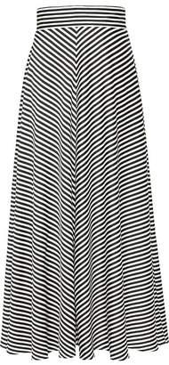 Banana Republic Petite Stripe Maxi Skirt