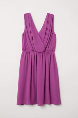 H&M MAMA Nursing Dress - Purple