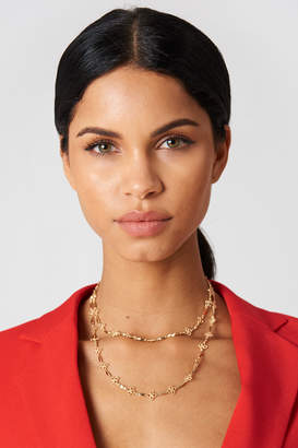 Na Kd Accessories Thin Clover Necklace