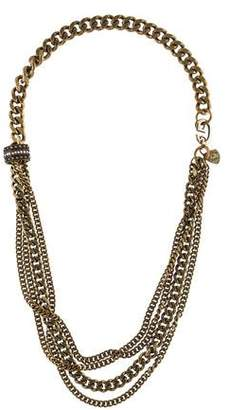 Giles & Brother Multistrand Crystal Necklace