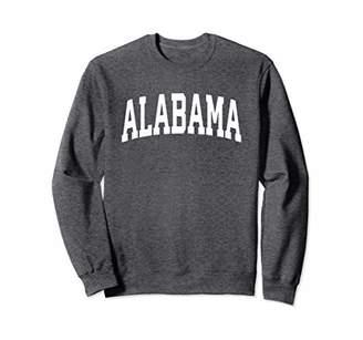 Alabama Crewneck Sweatshirt Sports College Style State USA.