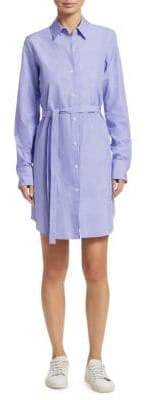 Theory Clean Cotton Shirtdress