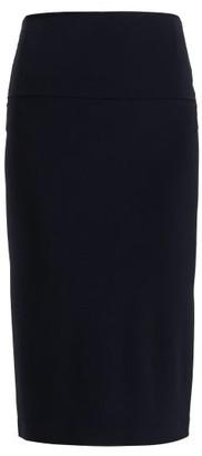 Norma Kamali Tube Stretch Jersey Skirt - Womens - Navy