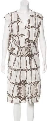 Marni Geometric Knee-Length Dress