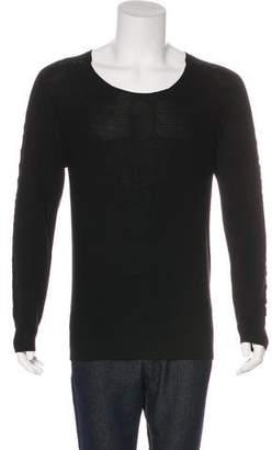 Just Cavalli Wool Distressed Sweater