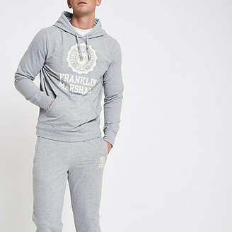 River Island Franklin and Marshall grey tracksuit outfit