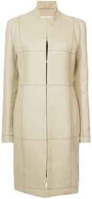 Loewe grid print coat