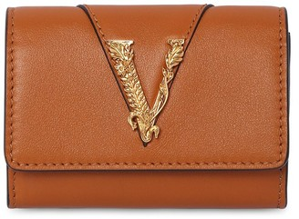 Versace SMOOTH LEATHER COIN CASE WALLET