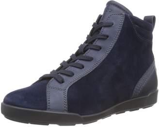 Ecco Shoes Women's Crisp II Hightop, Blue