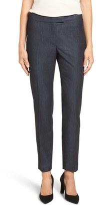 Women's Anne Klein Slim Stretch Denim Suit Pants $79 thestylecure.com