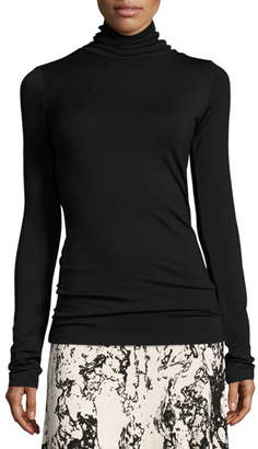 Rachel Pally Plus Size Basic Long-Sleeve Turtleneck, Black