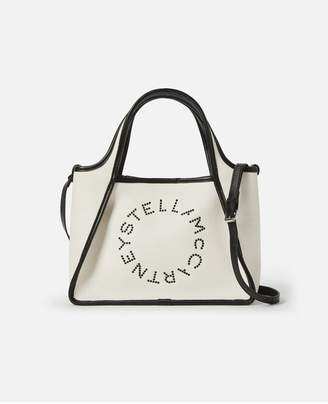 Stella McCartney Stella Logo Eco Denim Cross Body Bag
