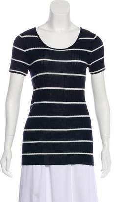 Jenni Kayne Rib Knit Short Sleeve Top w/ Tags