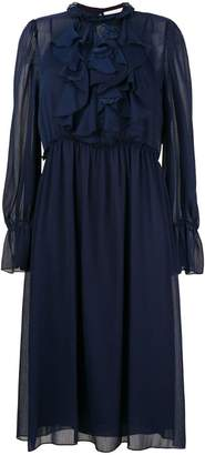 See by Chloe frilly midi dress