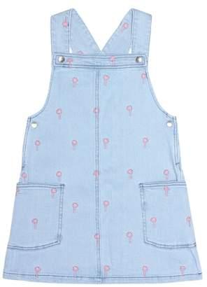 94f2b0af55a4 Stella McCartney Embroidered denim dress