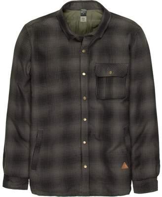 Quiksilver Wildcard Riding Flannel Shirt Jacket - Men's