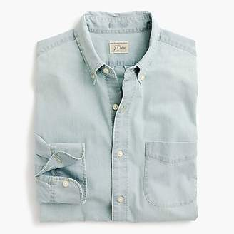 J.Crew Light wash stretch chambray shirt