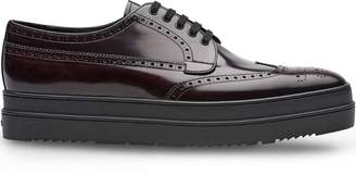 6d2377be410 Prada platform Derby shoes