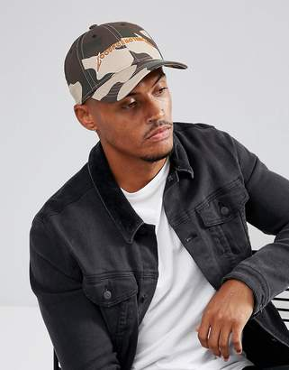 Good For Nothing Baseball Cap In Camo With Logo
