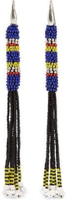 Isabel Marant Tassled Beaded Earrings