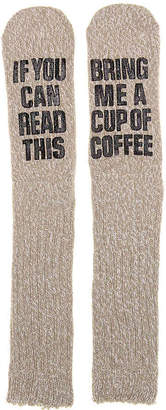 Mix No. 6 Bring Coffee Slipper Socks - Women's