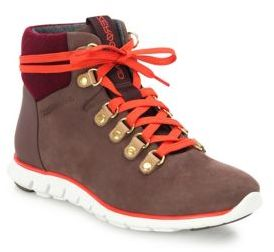 Cole Haan ZeroGrand Suede Hiker Boots $250 thestylecure.com