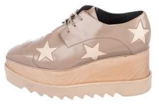 Stella McCartney Elyse Vegan Leather Platform Loafers