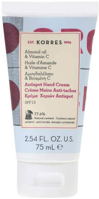 Korres Natural Almond Oil and Vitamin C Anti-Spot Hand Cream 75ml