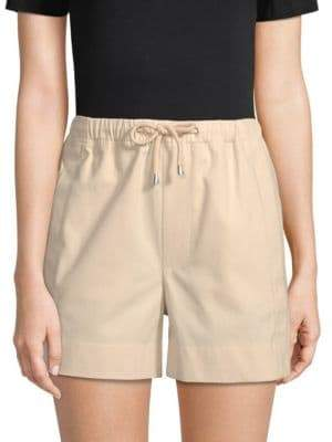 Helmut Lang Classic Cotton Pull-On Shorts