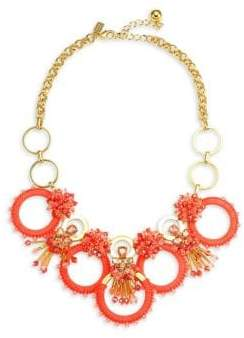 Kate Spade Coral Ring Necklace