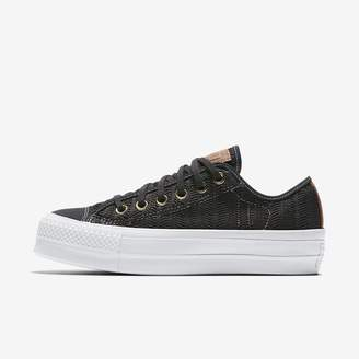 Converse Chuck Taylor All Star Lift Herringbone Mesh Low Top Women's Shoe