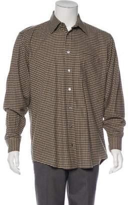 Luciano Barbera Plaid Flannel Shirt