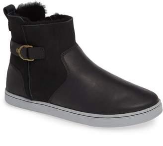 OluKai Pehuea Pa'I Genuine Shearling Sneaker Boot