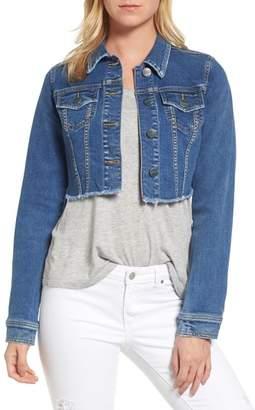 SLINK Jeans Fray Crop Jacket