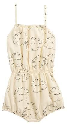 Bobo Choses Clouds Organic Cotton Romper