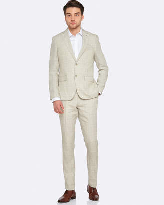 Oxford Max Linen Suit Set