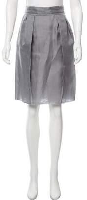 Dolce & Gabbana Silk Tulle Skirt w/ Tags