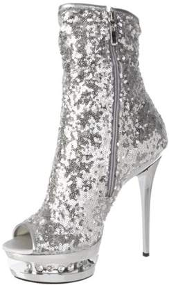 Pleaser USA Women's Blondie-R-1008 SSQ Ankle Boot