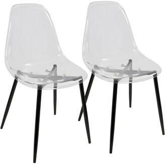 Lumisource Set Of 2 Clara Dining Chairs