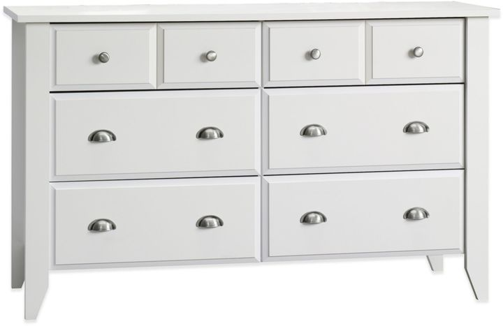 Child Craft Child CraftTM Relaxed Traditional Double Dresser in White