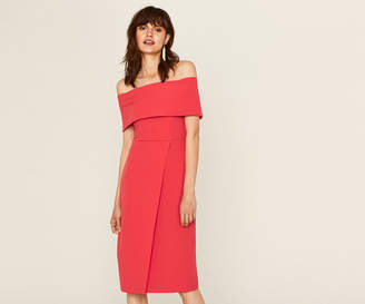 Oasis EVENING BARDOT DRESS