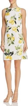 Adrianna Papell Fresh Lemon-Print Dress