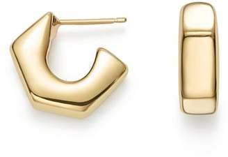 Bloomingdale's 14K Yellow Gold Geometric Huggie Hoop Earrings - 100% Exclusive