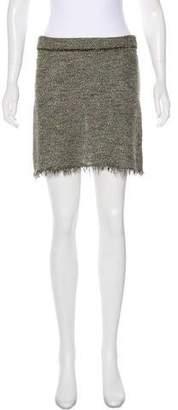 Isabel Marant Linen-Blend Mini Skirt