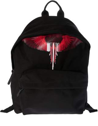 Marcelo Burlon County of Milan Wings & Barcode Logo Backpack